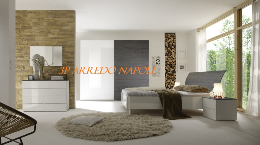 Camera Da Letto Bianco E Grigio : Camera da letto grigio e bianco camera da letto completa dama